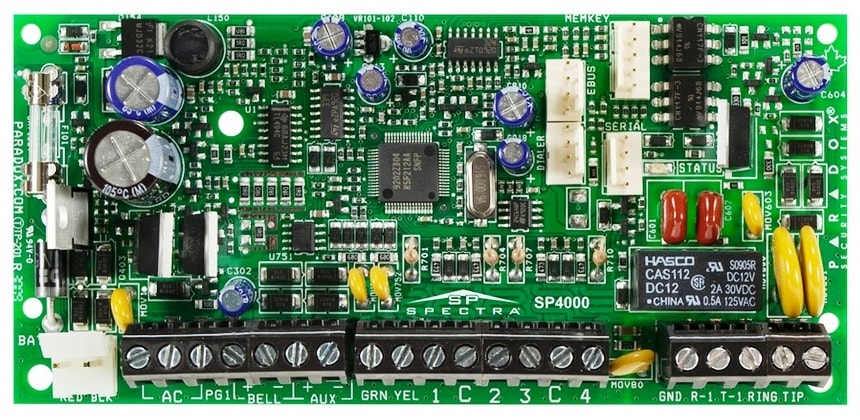 sp Контрольная панель плата paradox сигнализация spectra sp4000 spectra paradox контрольная панель централь охранной сигнализации сп4000 парадокс