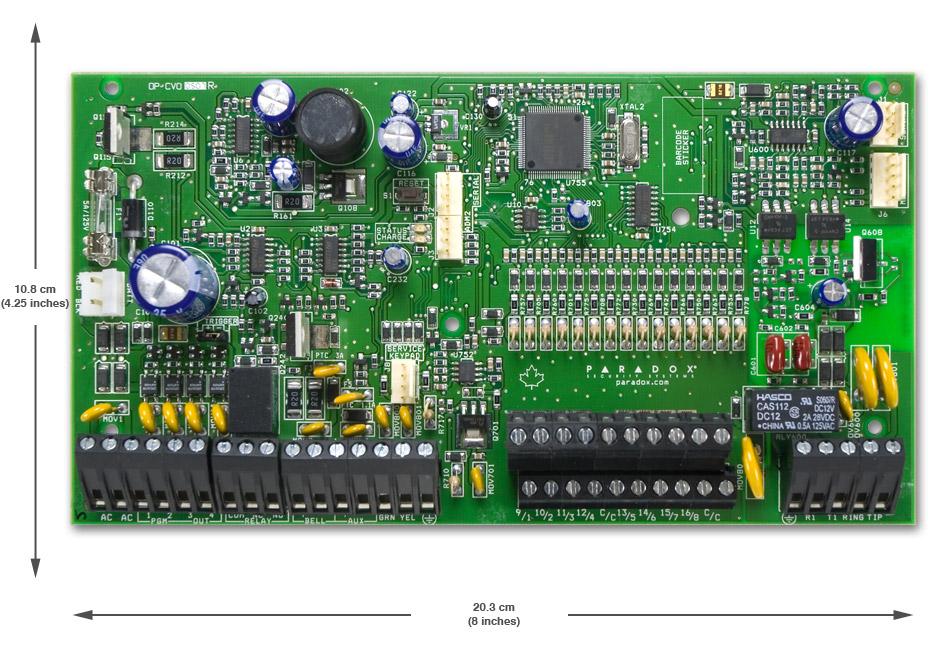 sp Контрольная панель плата paradox сигнализация spectra sp7000 spectra paradox контрольная панель централь охранной сигнализации парадокс