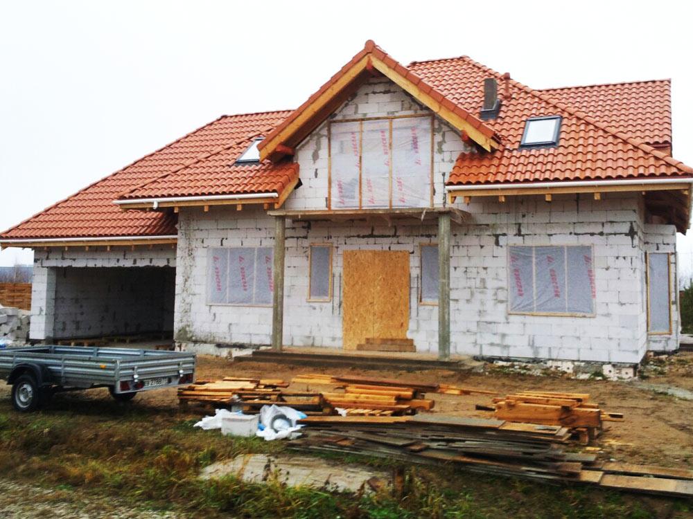 Дом из пенобетона