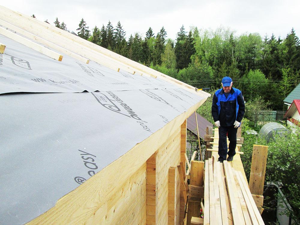 Деревянный дом профелированный брус